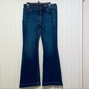 Express Jeans Eva Fit & Flare Size 8 Long